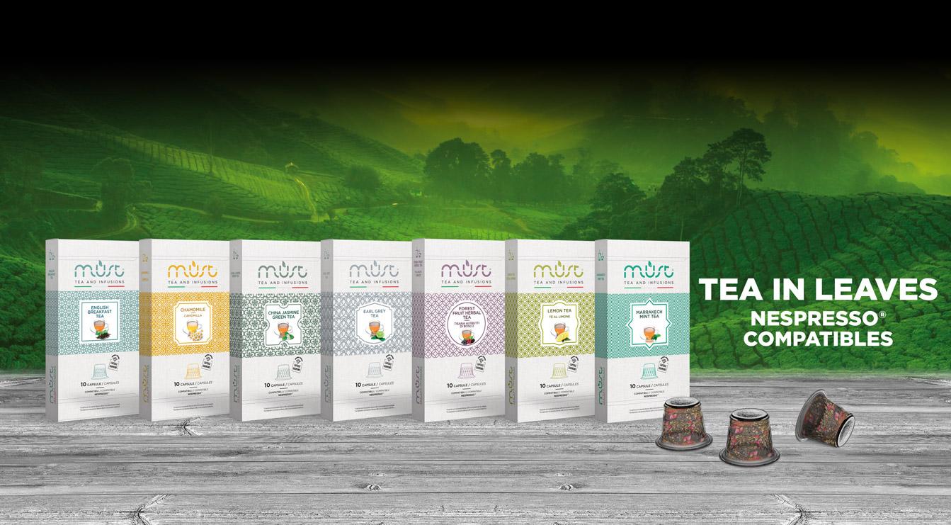 Nespresso® Compatibles Teas